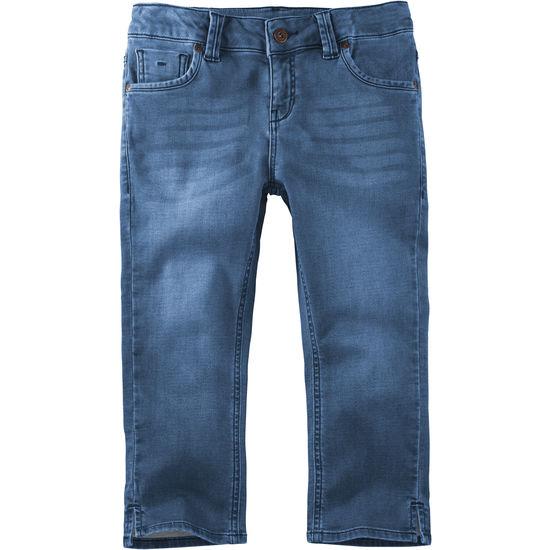 Mädchen Capri Sweathose Jeans Optik FIT-Z