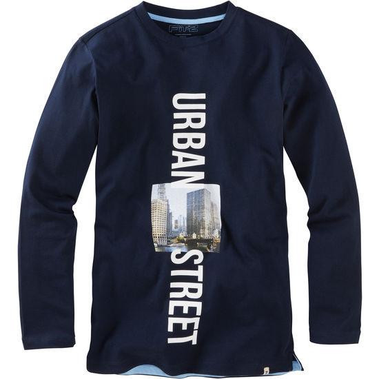 Langarmshirt aus Jersey für Jungs FIT-Z