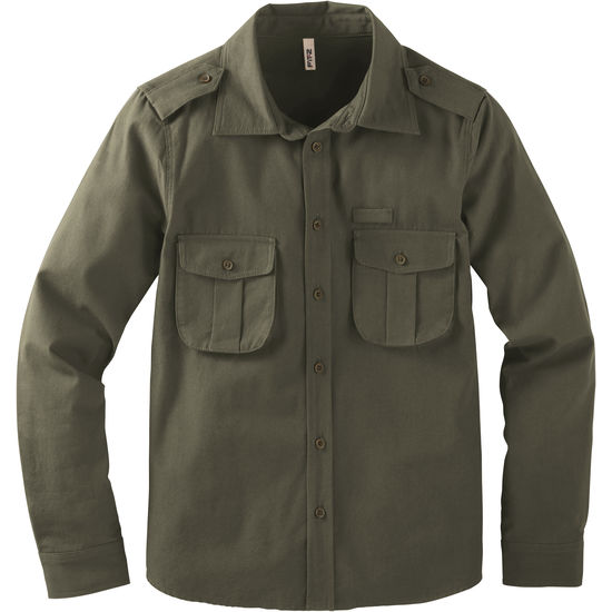 Rangerhemd Twill Jungen FIT-Z