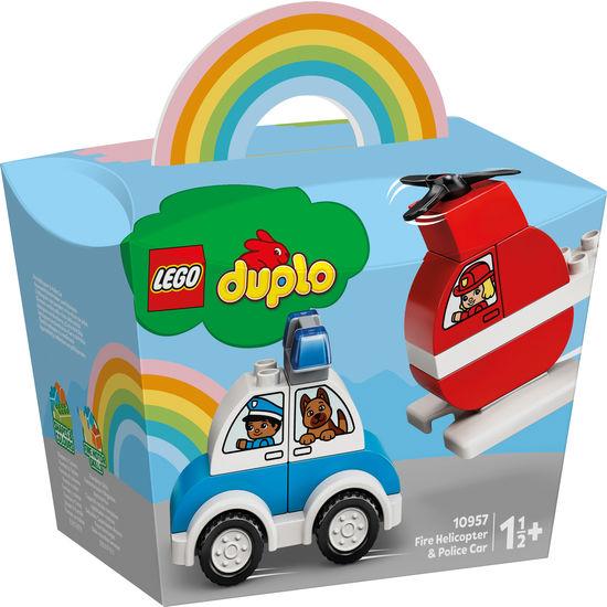 LEGO® DUPLO® 10957 Mein erster Feuerwehrhubschrauber/Polizeiauto