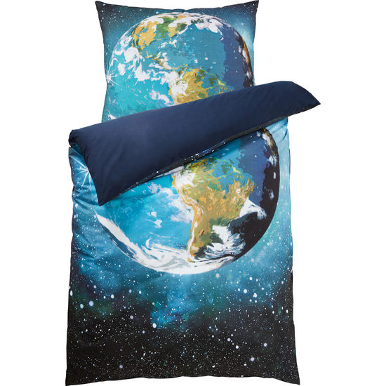 Renforcé Bettwäsche Erde mit Reißverschluss FIT-Z, 135 x 200 cm