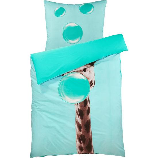 Renforcé Bettwäsche Giraffe mit Reißverschluss FIT-Z, 135 x 200 cm