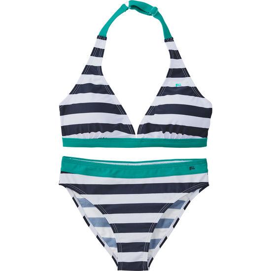 Bikini gestreift Mädchen FIT-Z