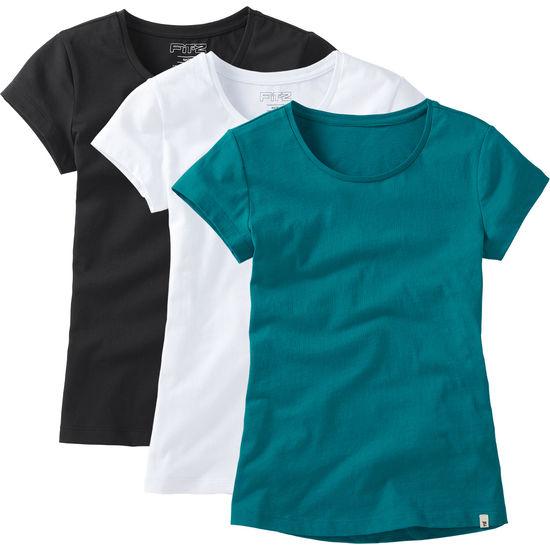 T-Shirt 3er Pack für Mädchen FIT-Z