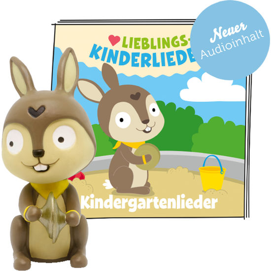 tonies® Hörfigur Hase - 30 Lieblings-Kinderlieder – Kindergartenlieder