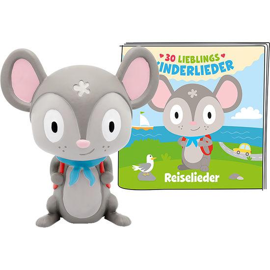 tonies® Hörfigur Maus - 30 Lieblings-Kinderlieder Reiselieder