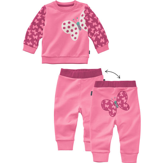 Baby Set JAKO-O Langarmshirt und Hose mit Motiven