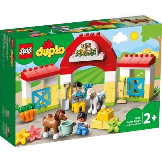 LEGO®DUPLO® 10951 Pferdestall und Ponypflege