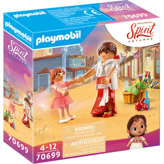 PLAYMOBIL® Spirit 70699 Klein Lucky & Mama Milagro