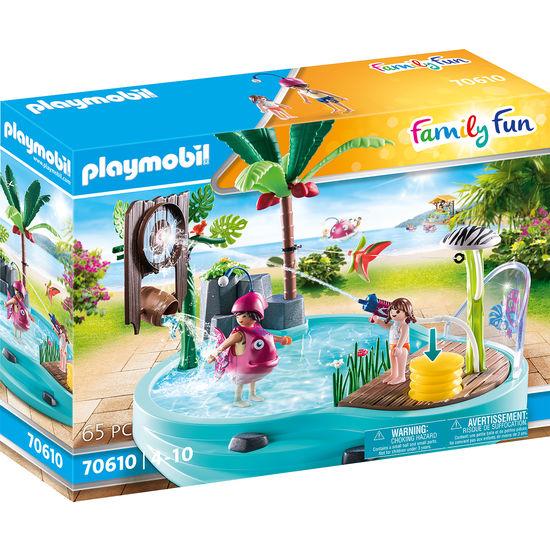 PLAYMOBIL® Family Fun 70610 Spaßbecken mit Wasserspritze