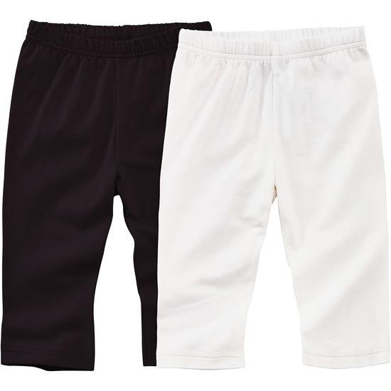 Kinder Capri-Leggings JAKO-O, 2er Pack