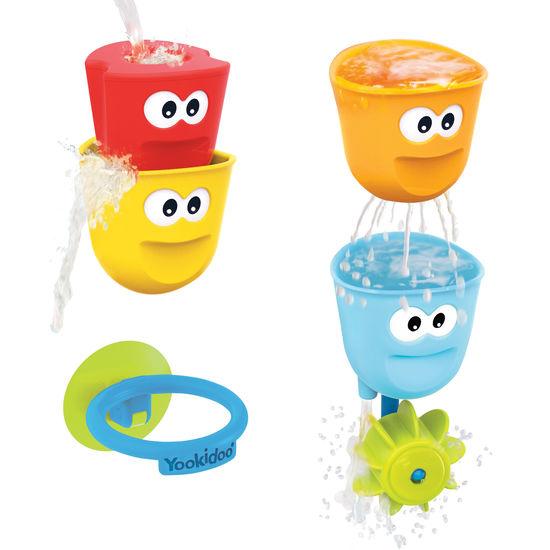 Yookidoo® Wasserbecher-Set, Spielzeug für die Badewanne