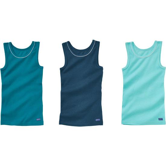 Mädchen Unterhemd 3er-Pack JAKO-O