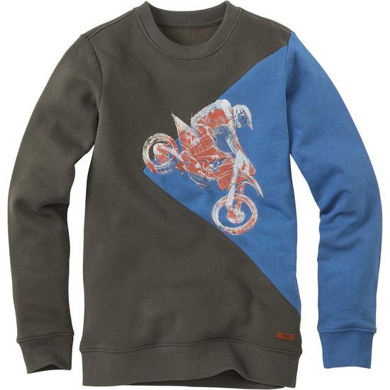 Jungen Sweatshirt Colourblock Motorcross FIT-Z