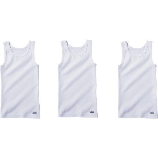 Kinder Unterhemden Extralang 3er-Pack JAKO-O